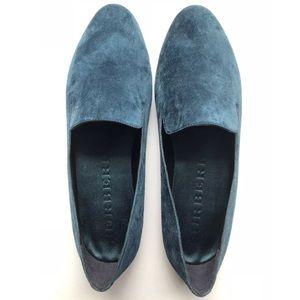 New in box - Burberry Suede Loafer Moccasin Flats